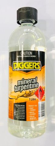 MINERAL TURPS X 1 LTR