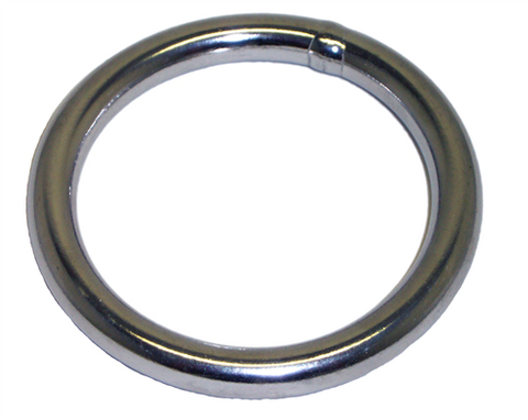 ROUND RING 10MM SS304 IW: 100MM