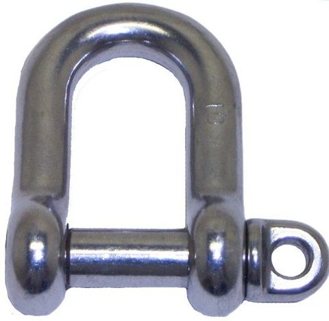 5MM S/S FORGED D SHACKLE