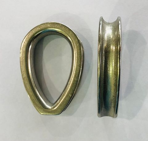 THIMBLES 16MM SS316 CLOSED