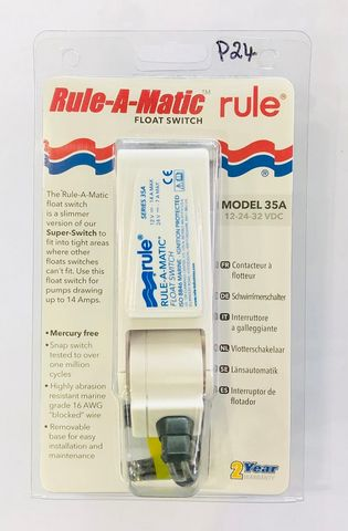 RULE-A-MATIC FLOAT SWITCH 14AMP