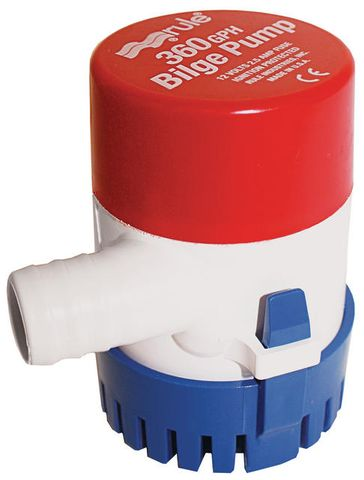 360 GPH RULE PUMP 12VOLT