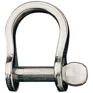 BOW SHACKLE 6.4MM PL B/S 1400KG