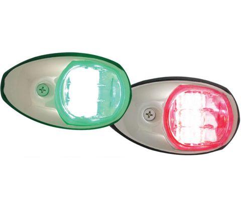 Navigation Lights LED Side Mount S/S