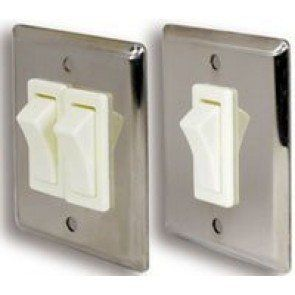 Light Switches - Stainless Steel