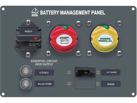 BEP Battery Management Panel Type 4