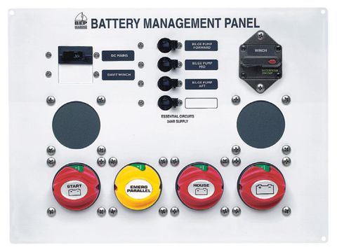 BEP Battery Management Panel Type 1