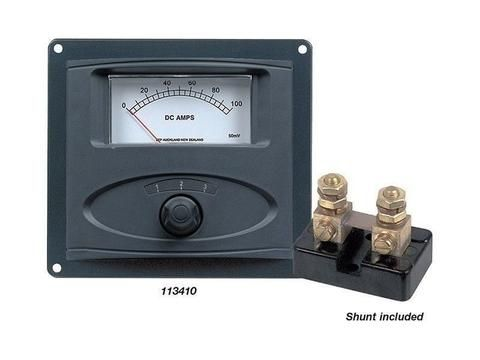 BEP Analogue Ammeter Panel 0-100amp