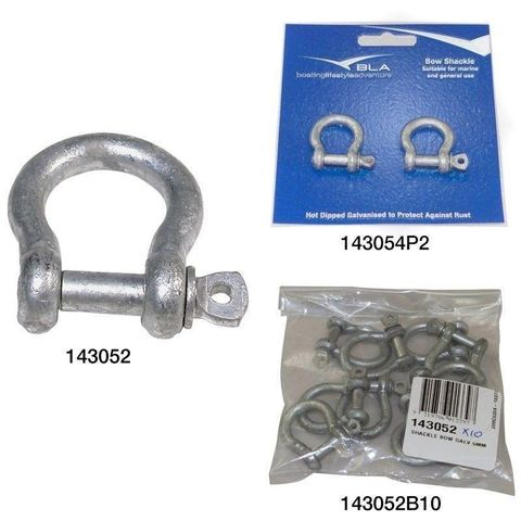 Shackle Bow BLA Galvanised