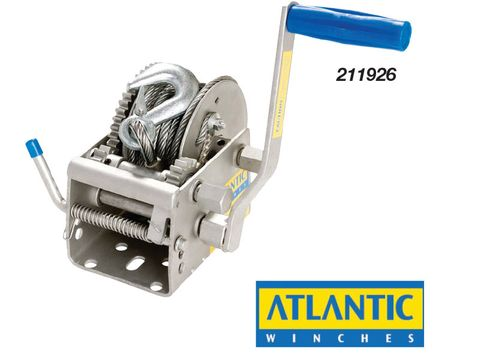 Atlantic Manual Trailer Winch 1000kg