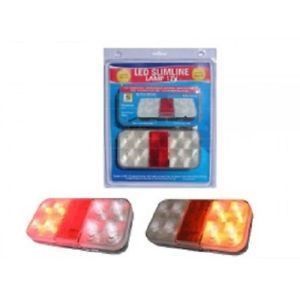Trailer Light Set LED Ark Slimline