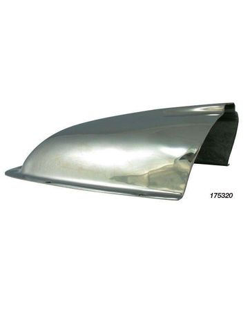 Clam Vents - Stainless Steel