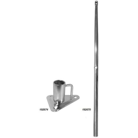 Stanchions and Bases - Marine Town Stainless Steel
