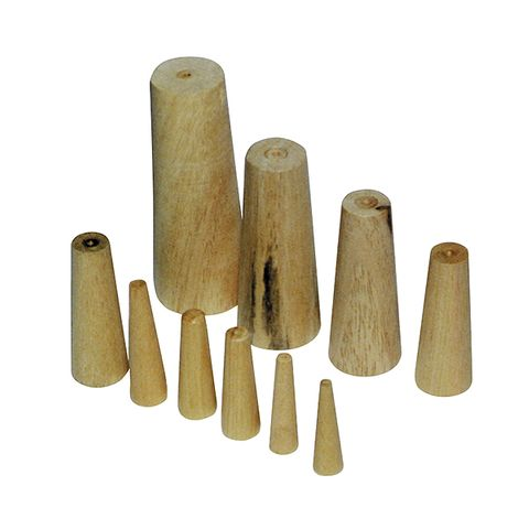 Wooden Bungs, Set of 10