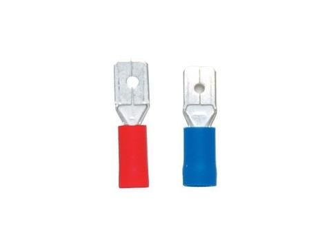 Connectors - Pre-Insulated Internal Spade Terminals, Pack of 100