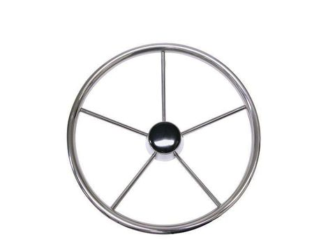 Steering Wheel - 5 Spoke Stainless Steel