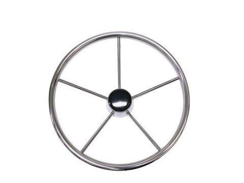 Steering Wheel - 5 Spoke Stainless Steel