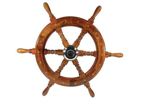 Steering Wheel - Six Spoke Timber