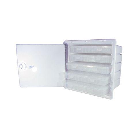 SSI Lockable Storage Cabinet - 5 Drawer