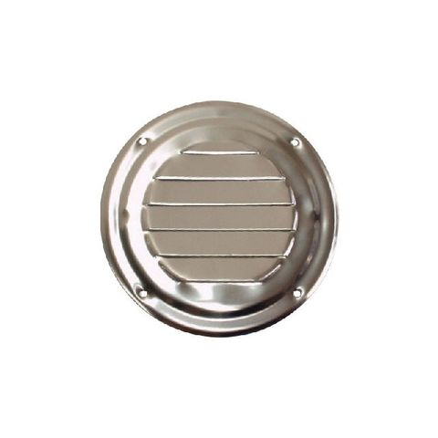 Louvre Vent - Stainless Steel Round