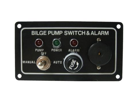 Bilge Pump Control Panel - with Alarm