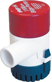 Bilge Pump Rule 1100 GPH - Round Base