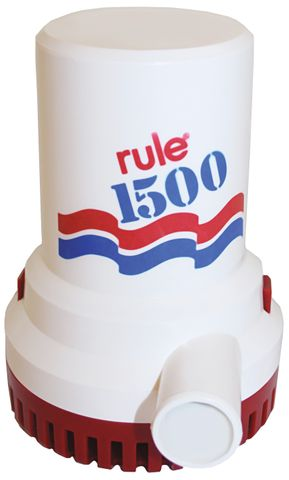 Bilge Pump Rule 1500 GPH