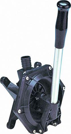 Bilge Pump Manual Jabsco Bulkhead