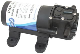 Freshwater galley pressure pumps