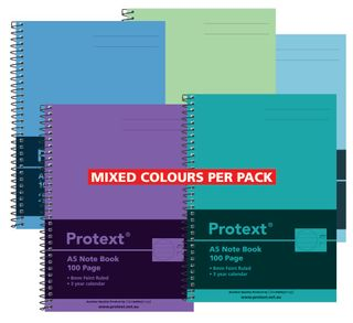 Protext A5 100pg PP Note Book