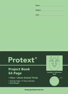 Protext 330x240mm 24mm Dotted Thirds Project Book
