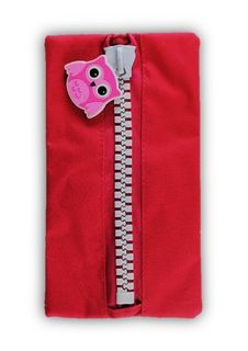 Protext Character Pencil Case - Magenta Owl
