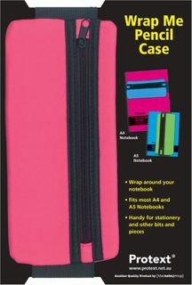 Protext Wrap Me Pencil Case - Magenta
