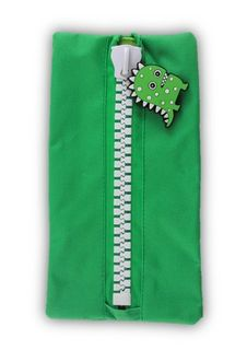 Protext Character Pencil Case - Green Monster