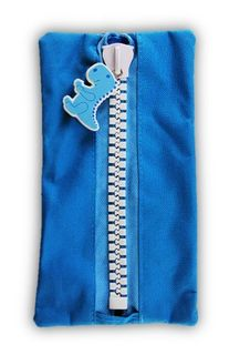 Protext Character Pencil Case - Blue Dragon