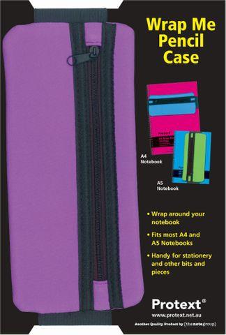 Protext Wrap Me Pencil Case - Purple