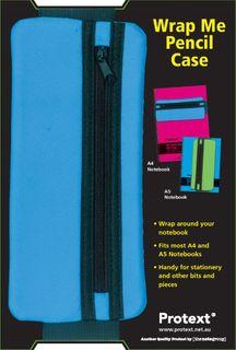 Protext Wrap Me Pencil Case - Blue