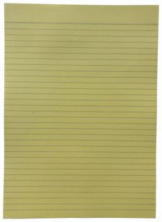 Writer A4 Yellow 500 Sheet Bond Ream