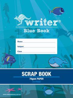 Blue Book 72pg Scrap Book 70gsm