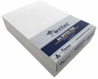 Writer A4 100lf Office White Plain Notepad