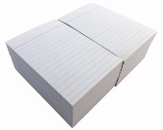Writer 6*4 100lf Office White Ruled Notepad
