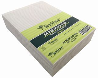 Writer A4 80lf Recycled Notepad