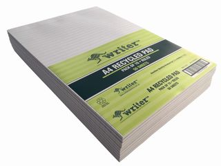 Writer A4 50lf Recycled Ruled Notepad