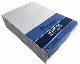 Writer A4 100lf Bond Ruled Notepad