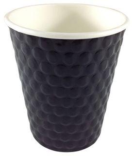 Writer Breakroom 12oz Black Double Wall Cup Bx500