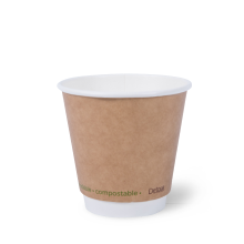 Writer Eco Brown Dbl Wall 8oz Cup bx500