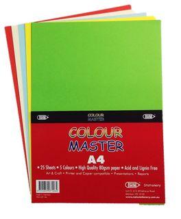 A4 Colour Master 25 sheets