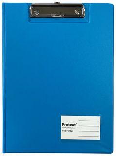 Protext A4 PP Clip Folder - Blue