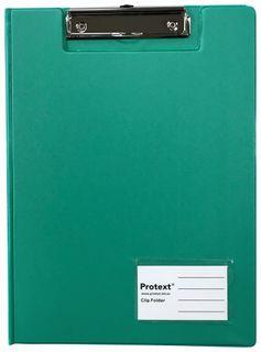 Protext A4 PP Clip Folder - Aqua