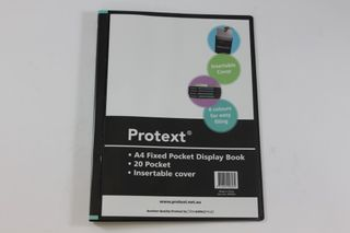 Protext A4 20pkt Fixed Display Book